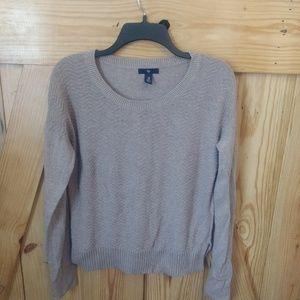 Women's Gap Light Brown Long Sleeve Sweater Medium